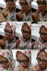 Indo Pacar Jilbab Nyepong Sampe Crot